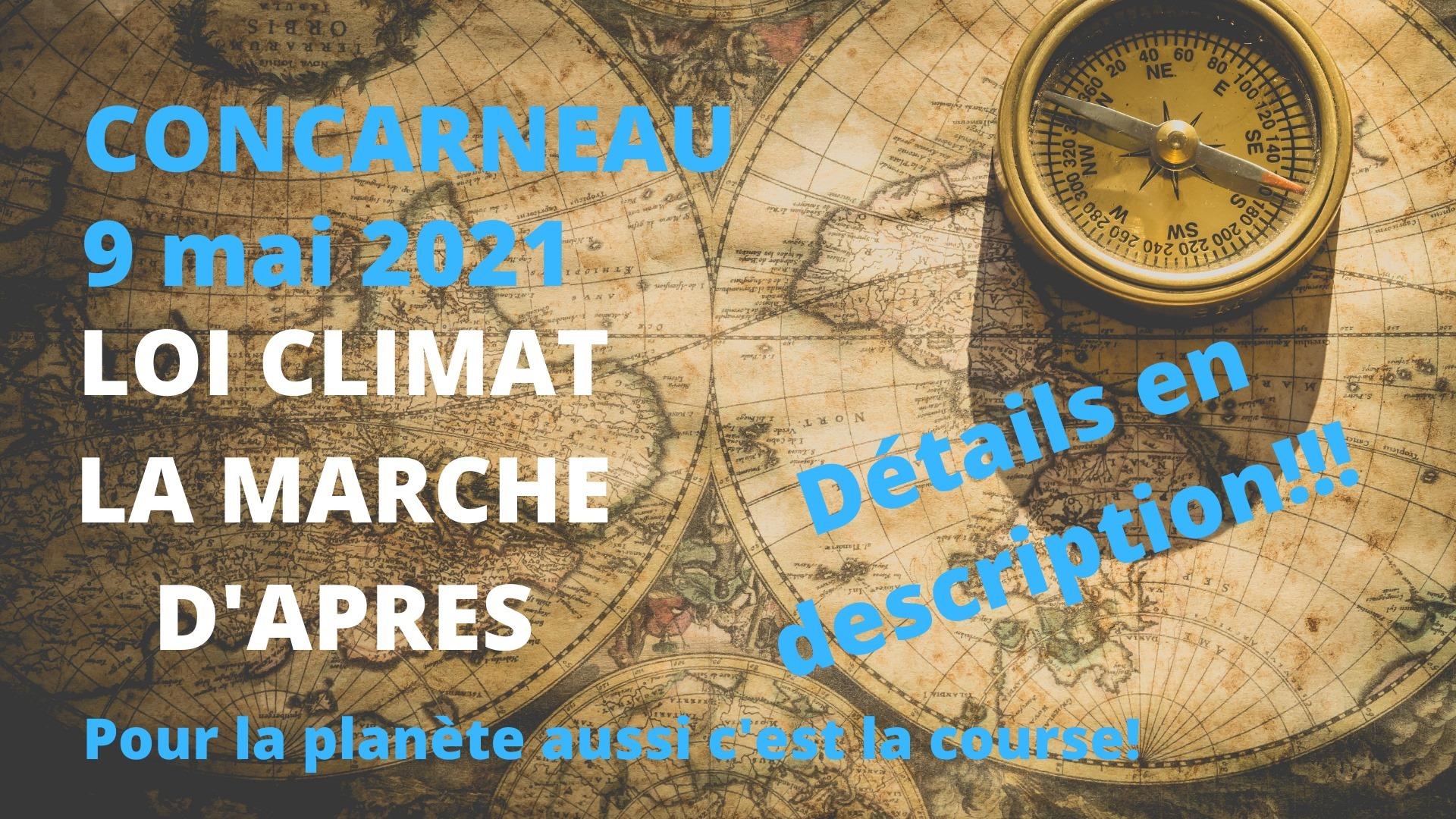Concarneau (29), Marche pour le Climat