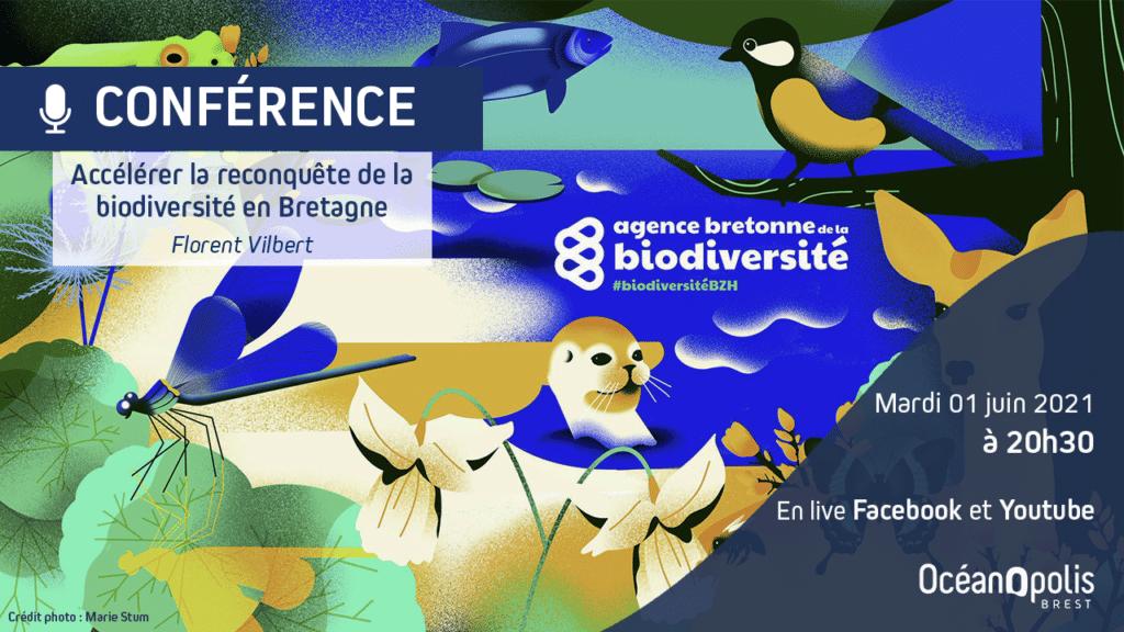 Accélérer la reconquête de la biodiversité en Bretagne – Conférence en ligne