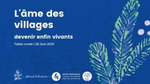 L'âme des villages : devenir enfin vivants @ Evénement en ligne